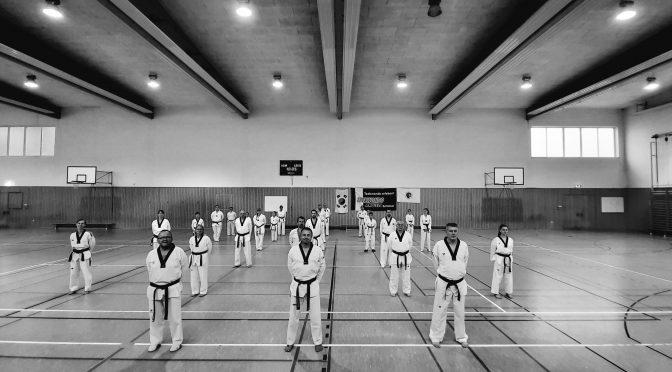 Formen-Lehrgang in Falkensee am 05.09.2020