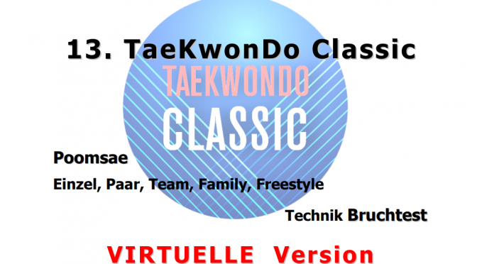 Ergebnisse Taekwondo Classic 2020 Virtuell